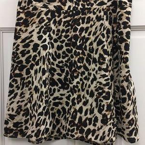 "BRAND NEW ""Show Me Your MuMu"" Leopard Skirt"